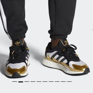 Adidas Tresc Run Black/Metallic Gold/White EG5661